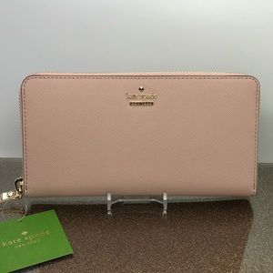 Kate spade Cameron street Lacey zip wallet